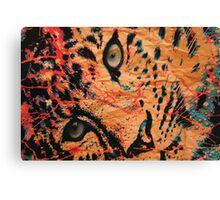 Paper Cheetah Canvas Print