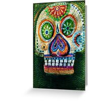day of the dead - Juntate con lobos y aprenderás a aullar Greeting Card