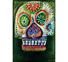 day of the dead - Juntate con lobos y aprenderás a aullar Photographic Print