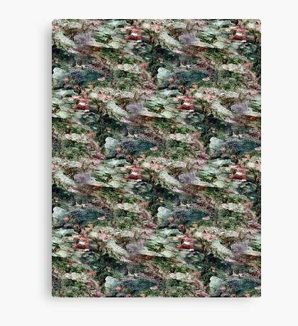 Spotted Rotted in Decayed Glade Canvas Print
