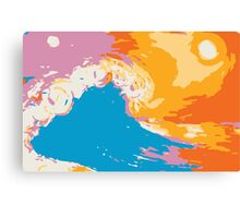 Hand of the Ocean Canvas Print
