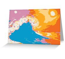 Hand of the Ocean Greeting Card