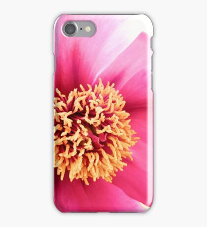 Spring Altered Pink Peony iPhone Case/Skin