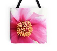 Spring Altered Pink Peony Tote Bag