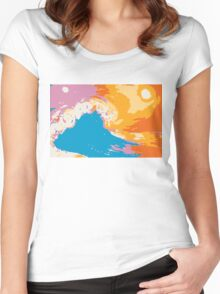 Hand of the Ocean Women's Fitted Scoop T-Shirt
