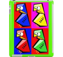 Birds Warhol like iPad Case/Skin