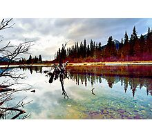 Policeman's Pond, Canmore, Alberta, Canada Photographic Print