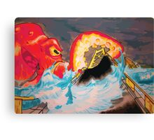 Octakeover Canvas Print