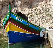 Maltese Boat by Paul Barnett