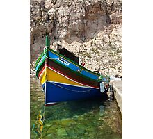 Maltese Boat Photographic Print