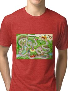 Cars Racing Tale Game Fantasy Tri-blend T-Shirt