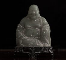 Dusty Jade Buddha  by Kim-maree Clark
