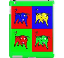 bull warhol like iPad Case/Skin