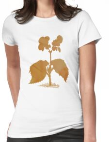 Begonia Womens Fitted T-Shirt