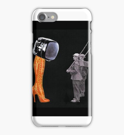 Under Scrutiny of the Boot iPhone Case/Skin