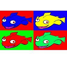 Fish warhol like Photographic Print