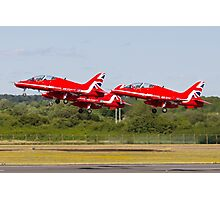Red Arrows Take Off Photographic Print