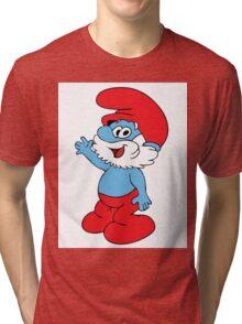 Grande puffo Tri-blend T-Shirt