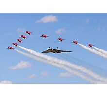 Saluting a Vulcan Photographic Print