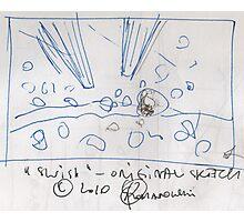 SWISH(ORIGINAL SKETCH)(C2010) Photographic Print