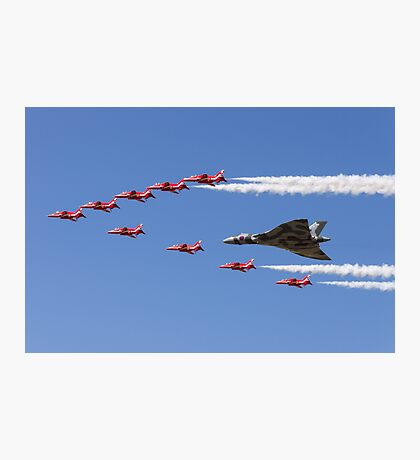 Vulcan and Arrows Photographic Print