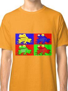 Frog warhol like Classic T-Shirt