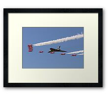 Vulcan and Red Arrows Framed Print