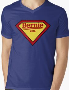 Bernie Sanders - Superhero Mens V-Neck T-Shirt