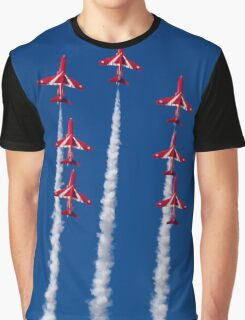 Red Arrows Spread Graphic T-Shirt