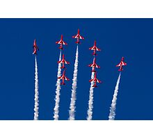 Red Arrows Spread Photographic Print