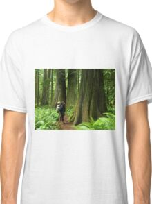 Meeting with a forest giant Classic T-Shirt