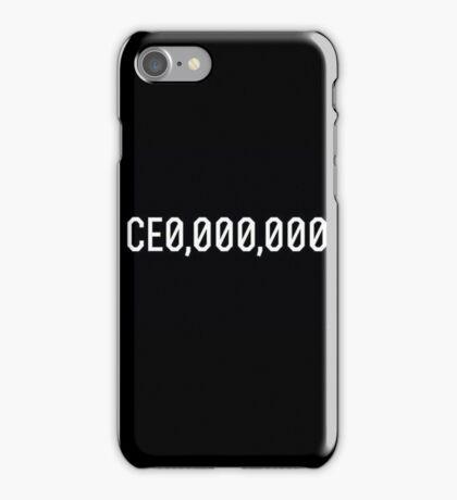 CE0 000,000 CEO CE0,000,000 iPhone Case/Skin