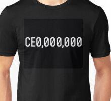 CE0 000,000 CEO CE0,000,000 Unisex T-Shirt
