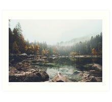 Lake serenity landscape photography Art Print