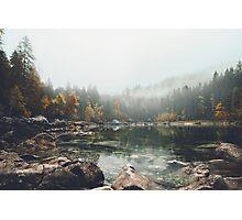Lake serenity landscape photography Photographic Print