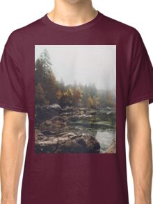 Lake serenity landscape photography Classic T-Shirt
