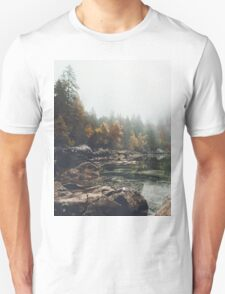 Lake serenity landscape photography Unisex T-Shirt
