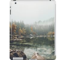 Lake serenity landscape photography iPad Case/Skin