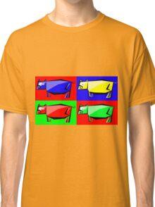 Pig Warhol like Classic T-Shirt
