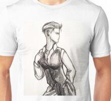 Busty White Duchess-Zoe Unisex T-Shirt
