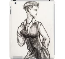 Busty White Duchess-Zoe iPad Case/Skin