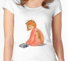 Ferret Love Women's Fitted Scoop T-Shirt