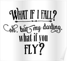 What If I Fall Poster