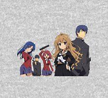 Toradora - Taiga Aisaka, Ryuuji Takasu, Minori Kushieda, Yusaku Kitamura, Kawashima Ami Unisex T-Shirt