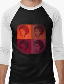Black Female Pride  Men's Baseball ¾ T-Shirt