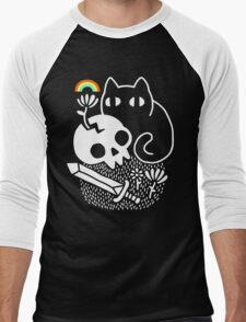 Cat & Stuff Men's Baseball ¾ T-Shirt