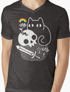 Cat & Stuff Mens V-Neck T-Shirt