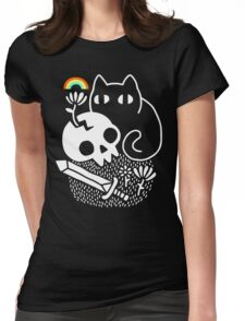 Cat & Stuff Womens Fitted T-Shirt