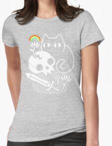 Cat & Stuff Womens Fitted T-Shirt