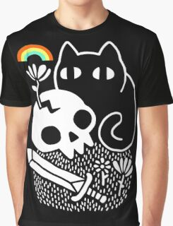 Cat & Stuff Graphic T-Shirt